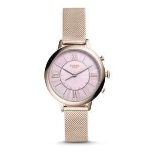 Fossil Hybrid Smartwatch - Pink Stainless Steel